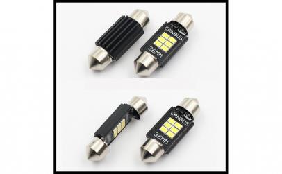 Becuri LED SOFIT  39mm -  6 SMD TIP