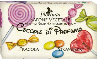 Sapun vegetal cu capsuni pentru copii