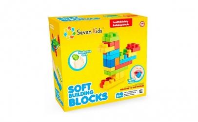Set 25 cuburi moi non-toxice pentru bebe