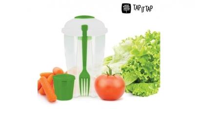 Cutie de plastic pentru salata