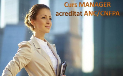Manager - curs acreditat ANC
