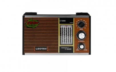 Radio portabil Leotec LT-2009, 11 benzi