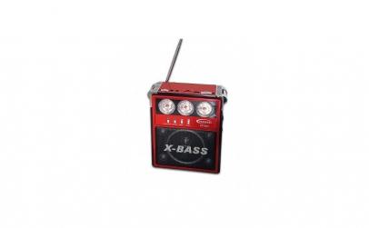Radio portabil cu lanterna si functii