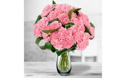 Buchet de 39 garoafe roz