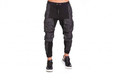 Pantaloni Barbati Black Pockets