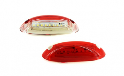 Lampa numar LED 24V Lumina: alba/rosie