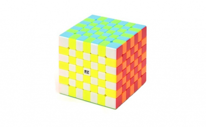 Cub Rubik 7x7x7 QiXing S stickerless