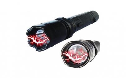 Lanterna electrosoc pentru autoaparare