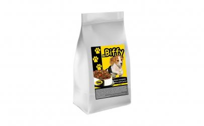 Hrana uscata pentru caini, Mr. Biffy