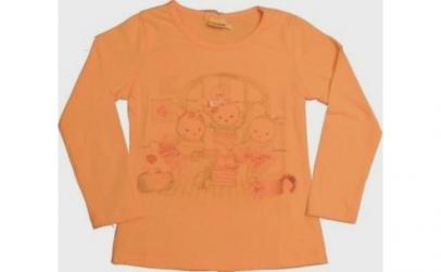 Tricou Lusa Kids, corai, fete, 5-6 ani,