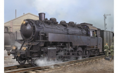 1:72 German Dampflokomotive BR86 1:72