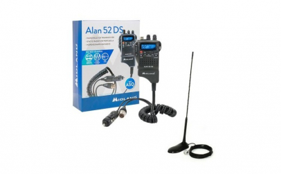 Kit statie radio + Antena cu magnet