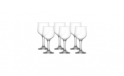 Set 6 pahare vin alb Lav Nevakar, 200 ml