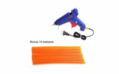 Pistol de lipit cu silicon, putere 40W