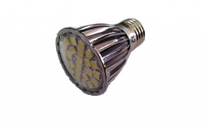 Bec cu 24 leduri SMD dulie E27 lumina