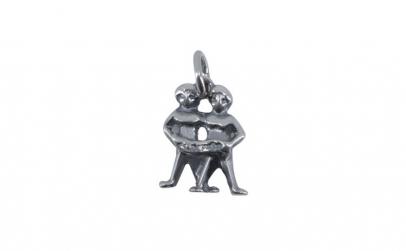 Pandantiv Argint 925, Zodia Gemeni