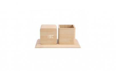 Organizator din lemn pentru birou,