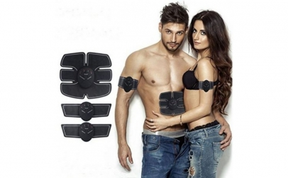 Kit electrostimulare fitness Six pack