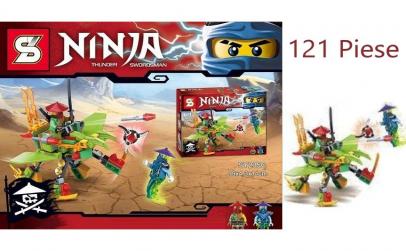 Joc creativ lego Ninja peste 121 piese