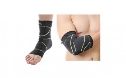 Cotiera elastica + Glezniera protectie