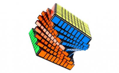 Cub Rubik 9x9x9 Moyu MFJS MF9 black,