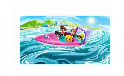 Gifts  Set de jucarii  barca de viteza