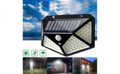 Lampa 100 LED solara