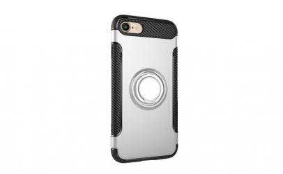 Husa iPhone 7/8 cu inel metalic