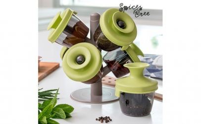 Suport de Condimente Spices Tree