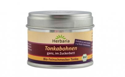 Boabe Tonka BIO in zahar brun, 50 g