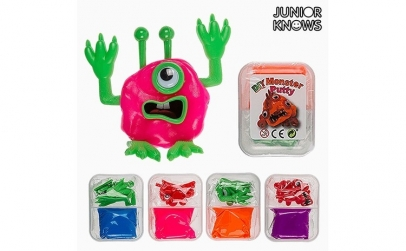 Plastilina Monstru DIY Junior Knows