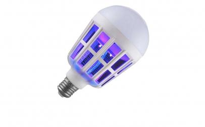 Bec 2in1 Cu Lampa UV Impotriva Insectel