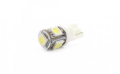 Bec LED T10 (W5W) 5-SMD