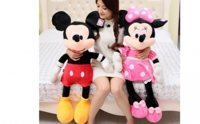 Plus Minnie Mouse/Mickey Mouse, 100cm