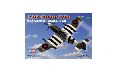 P-51C Mustang Fighter 1:72