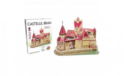 Puzzle 3D - Castelul Bran ,91 piese