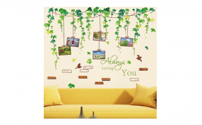 Sticker decorativ cu 5 Rame foto