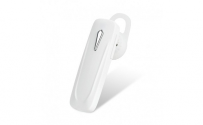 Casca Bluetooth Techstar® M163 Alb