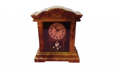 Ceas de masa cu pendula Rhythm, 19 cm,