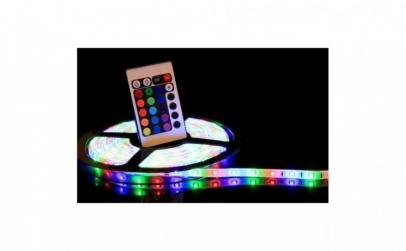 Banda RGB cu leduri de 5 metri
