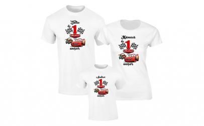 Set de tricouri albe pentru Parinti de