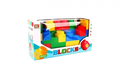 Set 32 Cuburi constructie Maxi Blocks