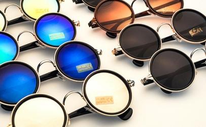 Ochelari Soare Rotunzi Retro Chrome