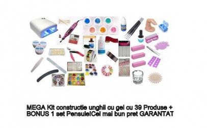 Mega Kit contructie unghii