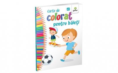 Carte de colorat pentru baietei