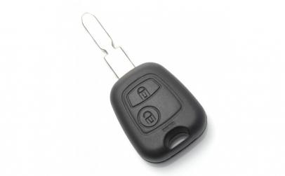 Citroen   Peugeot   Carcasa cheie cu 2
