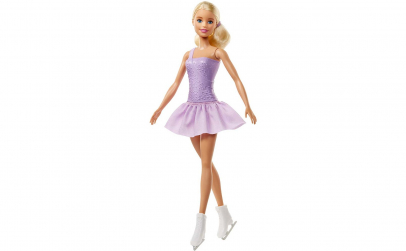 Barbie -  papusa patinatoare