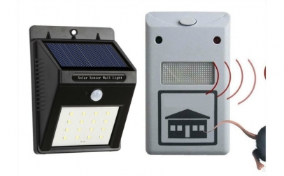 Lampa cu incarcare solara + cadou
