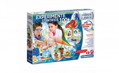 Joc educativ 100 de experimente