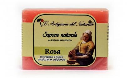 Sapun natural cu trandafir